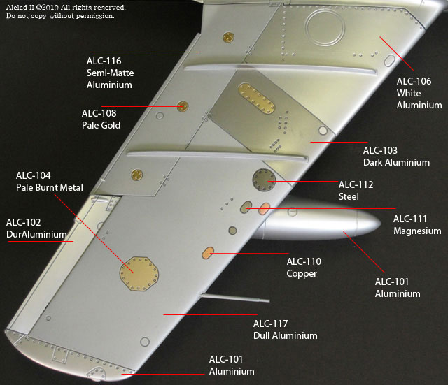 Alclad in Action tail section photo
